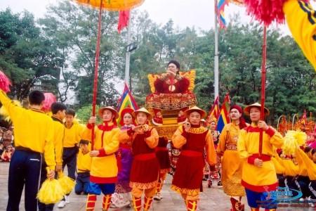 lễ hội hoa lư du lịch ninh bình