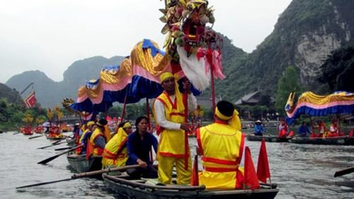 lễ hội chuyền thống du lịch tràng an bái đính
